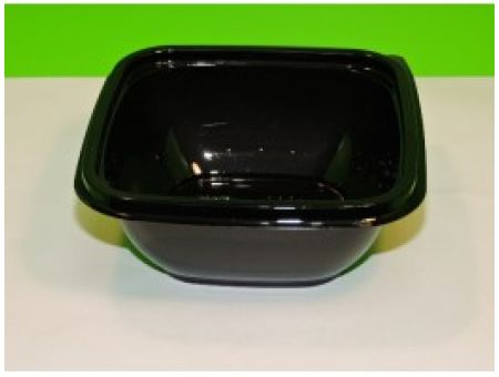 Черная одноразовая посуда