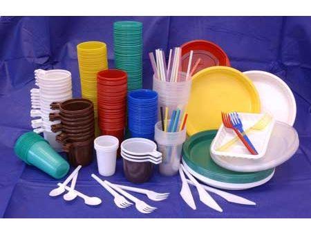 Одноразовая посуда для свадьбы