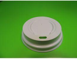 Крышка для стакана с питейником Д=90мм ,БЕЛАЯ,  100 шт/уп ,1000 шт/кор
