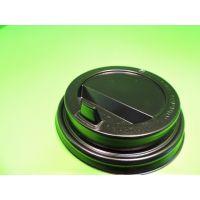 Крышка для стакана с питейником и клапаном д=90 черная, 100 шт/уп, 1000 шт/кор