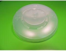 Крышка для стакана  Хухтамаки  МК Д=80мм с просечкой 100шт/уп, 2400 шт/кор