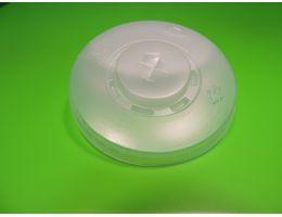 Крышка для стакана Хухтамаки Д=90мм с просечкой МК 150 шт/уп, 1800 шт/кор