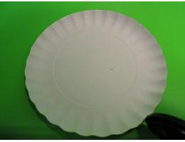 Тарелка картонная Д=205  Минитехник 600 шт/кор.