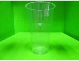 Стакан пластиковый пивной с пеногасителем  Huhtаmaki 500мл. 50шт/уп. 1200 шт/кор.
