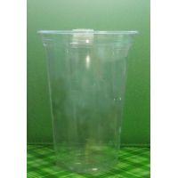 1 Стакан ПЭТ для коктейля 400 мл. прозрачный 1000 шт/кор.