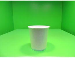 Стакан бумажный 100 мл. д=62 мм белый, 25 шт/уп, 600 шт/кор