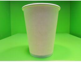 Стакан бумажный 205 мл. д=73 мм. белый 46 шт/упак. 2070 шт/кор.