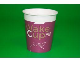 """Стакан бумажный 250 мл  """"Wake Me Cup Формация"""" д=80мм 75 шт/уп, 1500 шт/кор"""