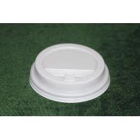 Крышка для стакана с питейником Д=90 мм, БЕЛАЯ ,1000 шт/кор