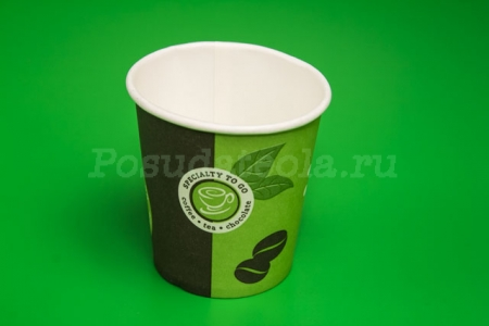 "Стакан бумажный 100 мл ""Coffe-to-go"" D-62мм 80 шт/упак 2000 шт/кор."